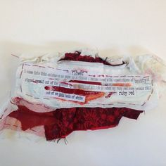a part of my installation Textiles Sketchbook, Art Sketchbook, Photography Projects, Art Photography, Period Party, Blood Art, Red Bedding, Feminist Art, Textile Artists