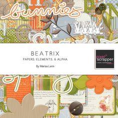 Beatrix Bundle by Marisa Lerin   Pixel Scrapper digital scrapbooking