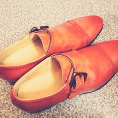 #shoes #orange
