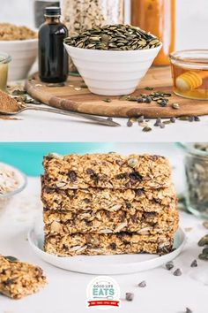 #ad Celebrate fall with these easy to make Pumpkin Chai Chocolate Chip Granola Bars featuring oats, real pumpkin puree, chai spices, mini chocolate chips, and pepitas. I think it provides a great balance of healthy ingredients along with a little something to satisfy a sweet tooth. | @goodlifeeats #pamperedchef #healthygranolabars #cookingwithkids #homemadegranolabars #howtomakegranolabars #pumpkinbrekfast #fallsnacks Healthy Granola Bars, Homemade Granola Bars, Chocolate Chip Granola Bars, Mini Chocolate Chips, Fall Snacks, Pampered Chef, Cooking With Kids, Pumpkin Puree, Chai