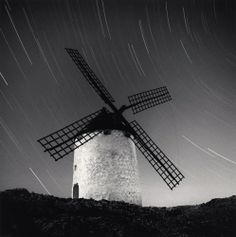 Michael Kenna Quixote's Giants, Study 7, Consuegra, La Mancha, Spain, 1996