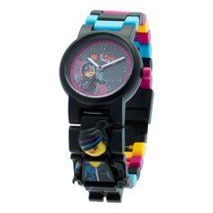 Lego Movie Lucy 'Wyld Style' Kid's Minifigure Interchangeable Links Watch, Girl's