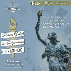 10 DE AGOSTO DE 1809,  PRIMER GRITO DE INDEPENDENCIA EN ECUADOR