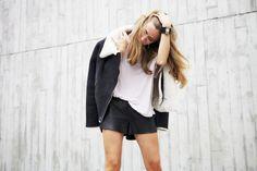 Vasilieva / buckling up for shorter days and longer nights // via bestfashionbloggers.com