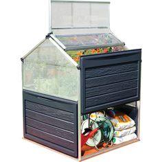 Palram 1.2m W x 1.2m D Mini Greenhouse