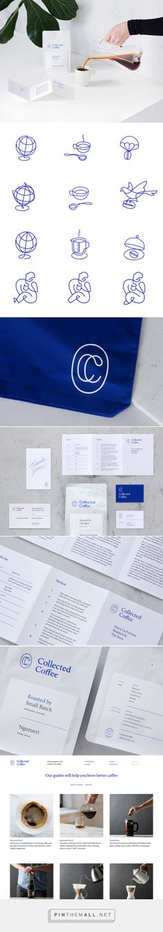Collected Coffee | Identity Designed - created via https://pinthemall.net