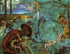 """Nativity of a New World"" Salvador Dali 1942"