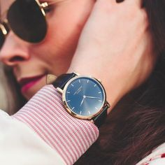 Gold & Black accessories 🕶⚜ #LW44 www.larsenwatches.com
