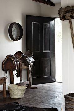 Tasmanian home renovation Saddle stand entry decor Interior, Interior Inspiration, Horse Decor, Living Room Decor, Entry Decor, Home Decor, Home Renovation, Interior Design, Living Decor