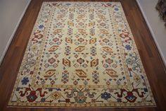 149 On Sale* New Anatolian Turkish Rug OUSHAK 6.8×8.9**209×271 ushak