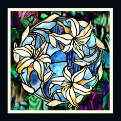 Creative Incentive: Faux Stained Glass