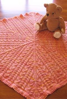 Sisterhood Baby Blanket - Knitting Patterns and Crochet Patterns from KnitPicks.com