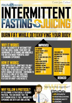 Intermittent Fasting Benefits and Juicing - Burn Fat While Detoxifying Your Body