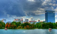 Medical Center from Hermann Park | Texas Medical Center (by J-a-x, via Flickr)