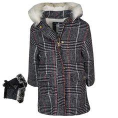 Παλτό ΕΒΙΤΑ 199041 (6-16 Ετών) Plaid, Shirts, Tops, Women, Fashion, Gingham, Moda, Fashion Styles, Dress Shirts
