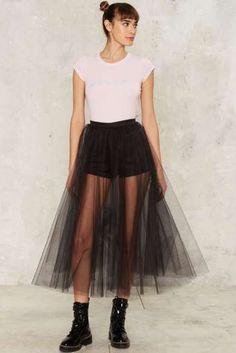Lindsay Tulle Skirt
