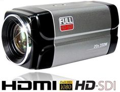 HDMI & HD-SDI camera. Will output both at the same time while also having 20x Optical zoom, autofocus capabilities.