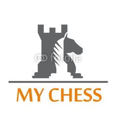 Logo tower and horse of chess # Vector by puckillustrations ...