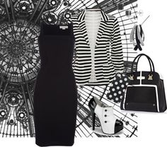 """""""BlackandWhite"""" by magsterific ❤ liked on Polyvore"""