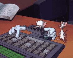 writing Animaniacs pinky and the brain fanfic written word character: the brain character: pinky