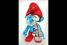 Anatomie Grand Schtroumpf