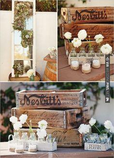 floral decorations and decor ideas | VIA #WEDDINGPINS.NET