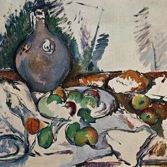 Still Life with Water Jug, 1893, Paul Cezanne