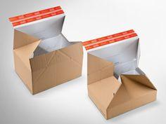 Ob groß, ob klein – hier passt alles rein. Ganz ohne zusätzliches Füllmaterial! Höhenvariabler ColomPac® Blitzbodenkarton mit Z-Faltung an den Seiten, sodass man zwischen 2 unterschiedlichen Packhöhen ohne Werkzeug wählen kann. • #Dinkhauser #offset #packaging #wellpappe #nachhaltig #plasticfree #keinplastik #klimaneutral #recycling #verkaufsverpackung #verpackungsdesign