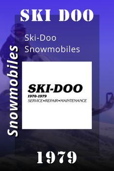 Ski Doo Snowmobiles, 1979 Ski-Doo Snowmobiles Service Manual Snowmobiles, Repair Manuals, Skiing, Ski