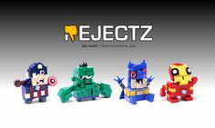 Presenting REJECTZ: They're like BRICKHEADZ, only much much worse