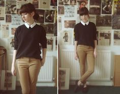 I could look/wear something like this all i need are the light brown skinny jeans!