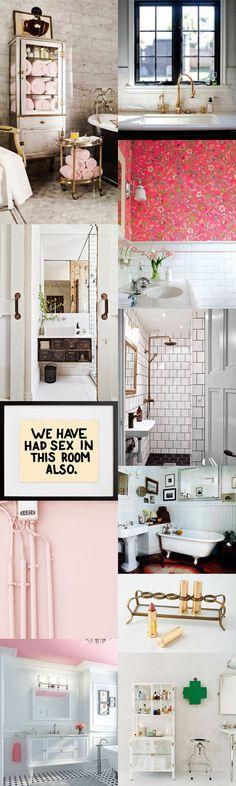 bathroom. also