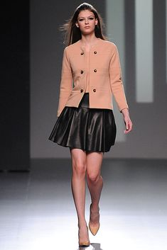 Teresa Helbig - Runaway Mercedes Benz Fashion Week Madrid Fall-Winter 2013/2014 (I Love it!)