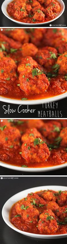10 Most Misleading Foods That We Imagined Were Being Nutritious! This Slow Cooker Turkey Meatballs Recipe Is Perfect For An Appetizer Or With Spaghetti For A Super Simple Supper. They Are Made In The Crockpot So That They Are Perfectly Moist And Tender Slow Cooker Bread, Crock Pot Slow Cooker, Crock Pot Cooking, Slow Cooker Recipes, Crockpot Recipes, Cooking Recipes, What's Cooking, Fun Easy Recipes, Easy Meals