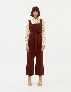 Buy the Farrow Agatha Corduroy Jumpsuit at Need Supply Co. Target Clothes, Engagement Outfits, Types Of Fashion Styles, Dressmaking, Stretch Fabric, Corduroy, Dress To Impress, Summer Outfits, Style Inspiration