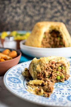 Instant Pot Keema Pie or Pudding - suet pastry filled with Indian spiced minced lamb Plan A Day Out, Suet Pudding, Indian Food Recipes, Ethnic Recipes, Indian Foods, Cottage Pie, Pressure Cooker Recipes, Slow Cooker, Instant Pot