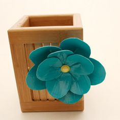 Learn how to make duct tape flowers  at HowJoyful