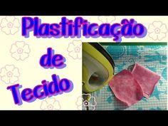 Como Plastificar Tecidos com Papel Contact - Artesanato DIY - YouTube