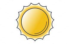 Sun Icon by Iconika on @creativemarket