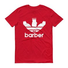 Classic Barber Sports Logo t-shirt (dark shirts)