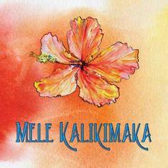 Hawaiian Christmas Card # 0