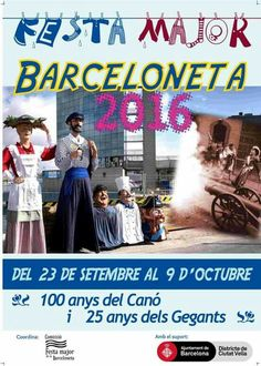 Festa major de la Barceloneta. Any 2016.