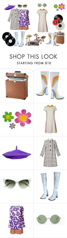 """Swinging London."" by queenofthenineteen-seventies ❤ liked on Polyvore featuring Dot & Bo, Little Girl Granny Sheep, Pauline Trigère, Walter Van Beirendonck and 3.1 Phillip Lim"