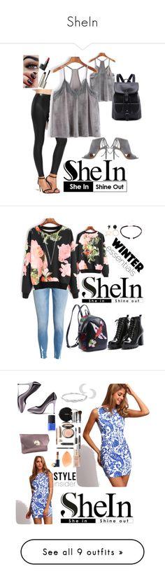 """SheIn"" by guelcan-1 ❤ liked on Polyvore featuring BOSS Hugo Boss, NARS Cosmetics, Ilia, Swarovski, Chanel, Elizabeth Arden, Estée Lauder, Miadora, Sergio Rossi and Stila"