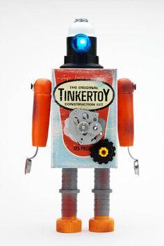 Pitarque Robots art toy-7