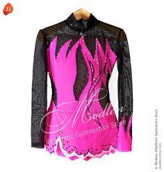 Rhythmische Sportgymnastik Anzug 21 von Modlen auf Etsy, $129,99