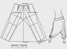 DIY: harem pants o pantalones aladdin: