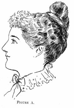 1890s hairstyle with instructions--- delineator