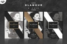 GLAMOUR FASHION Flyer Template by WG VISUALARTS on @creativemarket