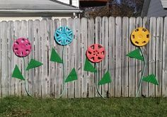 Junk Fence Project   Hazel and Verdie's